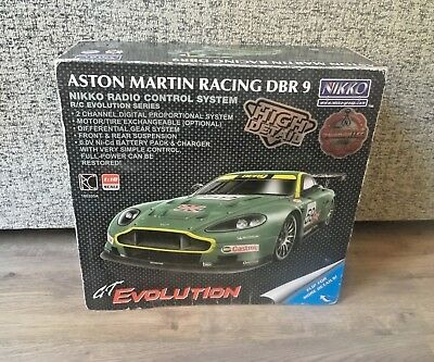 Nikko Aston Martin Racing DBR9 Remote Control Car- Boxed- Working- Rechargeable
