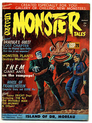 Chilling Monster Tales #1 (USA 1966) very high grade