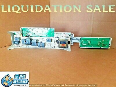 GE WASHER CONSOLE with Control Board and knobs, 175D4490G003