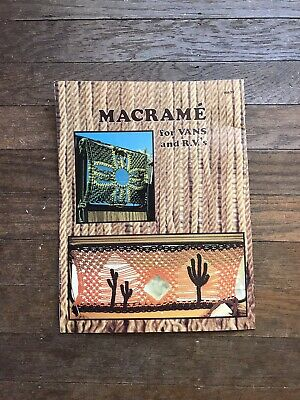 1970's Vintage 1970s Macrame Decorative Window Curtains Purse Pillows Pattern