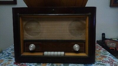 Radio Antigua Con Tocadisco Philips Modelo H5E75A