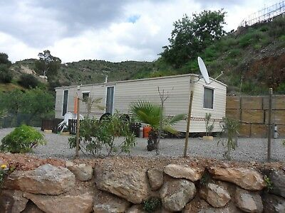 Mobile home on private plot for sale