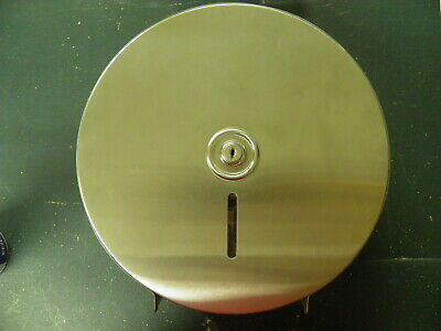 Jumbo Toilet Tissue Single Dispenser! Stainless Steel **Near Mint**