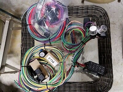 Swell 21 Circuit Wiring Harness Chevy Mopar Ford Hot Rods Universal Wire Wiring Cloud Hisonuggs Outletorg