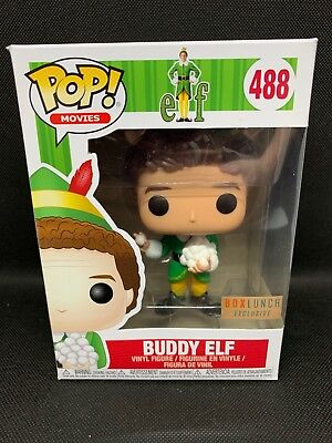 Funko Pop! Buddy The Elf #488 with Snowballs Box Lunch Exclusive In Hand NIB