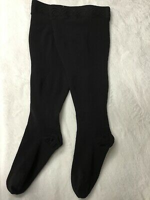 Sigvaris 20-30 Thigh High Black Compression Stockings Sz. LS Socks