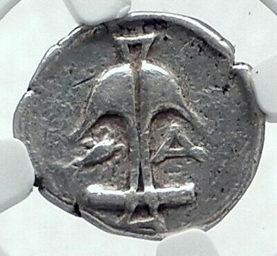 APOLLONIA PONTIKA Black Sea Area Thrace 425BC Silver Greek Coin NGC i77665