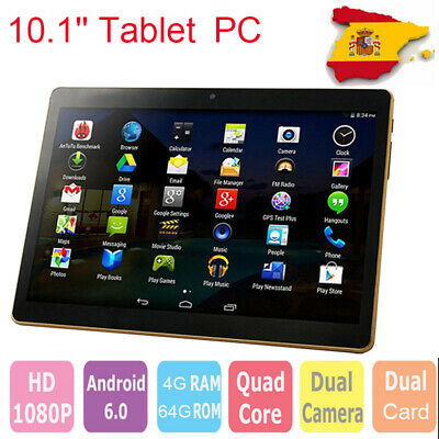 "10.1""Tablet PC RAM 4G ROM 64G 2Ghz Octa 8 Core WIFI Dual Card Dual Camera BT4.0"