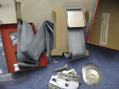 NOS 1960'S VINTAGE ATLAS SAFETY SEAT BELT Chevy Ford Dodge Plymouth Hot Rod Rat