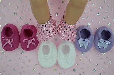 "Play n Wear Doll Clothes For 17"" Baby Born 4x BOOTIES~PINK~WHITE~LILAC~HOT PINK"