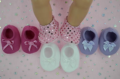 "PlaynWear Dolls Clothes For 17"" Baby Born 4x BOOTIES~PINK~WHITE~LILAC~HOT PINK"
