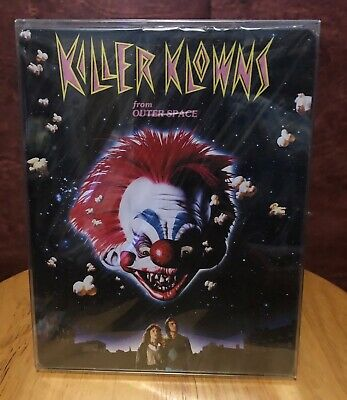 KIller Klowns From Outer Space Blu Ray OOP Limited Edition Steelbook ARROW VIDEO