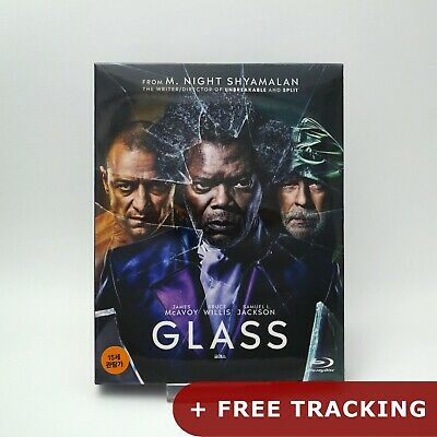 Glass - Blu-ray Steelbook Full Slip Case Limited Edition (2019)