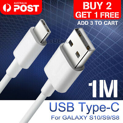 USB-C Type C Data&Charger Cable For Samsung Huawei Xiaomi Google Fast Charging