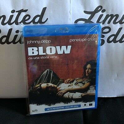 BLOW -BLU RAY-Film con Johnny Depp,Penelope Cruz-ENTRA PER ALTRI FILM in offerta