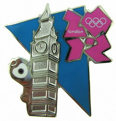 Sports Memorabilia London Paralympics 2012 Wenlock Metal Lapel Pin