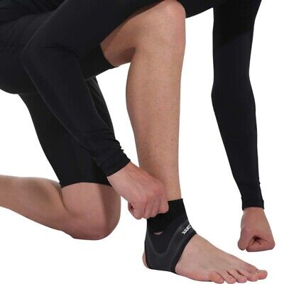 1PC Adjustable Elastic Ankle Brace Support Basketball Sports Protector Foot Wrap