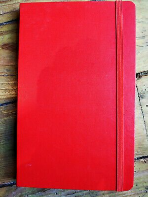 Carnet MOLESKINE Notebook dégriffé 21x13 cm Rouge, pages 5x5 mm