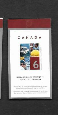pk43273:Stamps-Canada #BK294 Tourist Attractions 6 x 49 cent Booklet - MNH