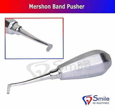 Orthodontie Mershon Bande Poussoir Ortho Instruments Oral Chirurgie Dentaire Lab