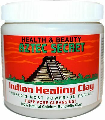 Aztec Indian Healing Calcium Bentonite Clay Face Mask Natural 1lb 100% Genuine