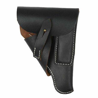 WWII WW2 Military German Black Leather Walther PPK Holster Color Black