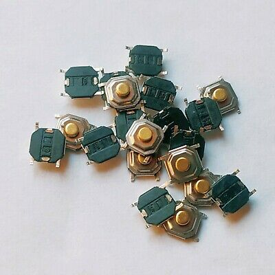 10x SMD Microtaster Push Button micro switch _ 4x4x2mm