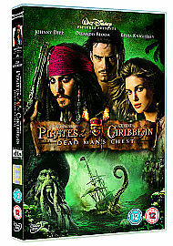 Pirates Of The Caribbean - Dead Man's Chest [DVD], Excellent DVD, Stellan Skarsg