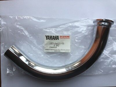 Yamaha RD125 Exhaust Down Pipe 1E7-14611-00 New Old Stock Discontinued.