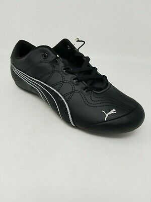 latest releases big clearance sale latest PUMA WOMEN'S SOLEIL V2 Suede Patent Sneaker Black Steel Gray ...