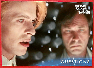 DAVID BOWIE - The Man Who Fell To Earth - Card #30 - Questions - Unstoppable
