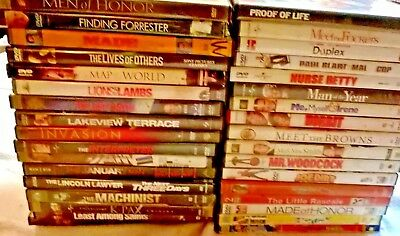 DVD's MOSTLY $3.95 - BUY TWO GET ONE FREE OF $3.95 DVD