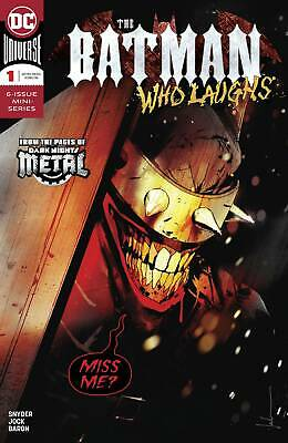 BATMAN WHO LAUGHS, VOL. 2 #1A NM B&B 1st print