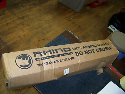 Rhino Anti-Fatigue Mat 3 Ft. X 5 Ft. 154188 New