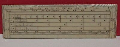 RULE [ Calculator ] Architect [ Drawing Instrument ] Very Fine { C1860 }