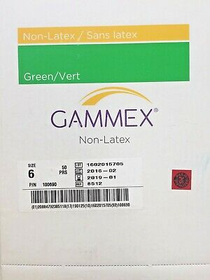 Gammex 8512 Non Latex Gloves sz6 50/bx (x)