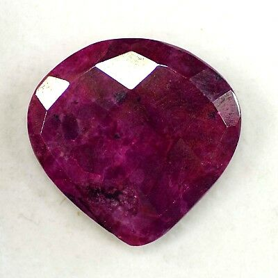 Natural 70.00 Ct Certified Real Corundum Red Ruby Loose Gemstone