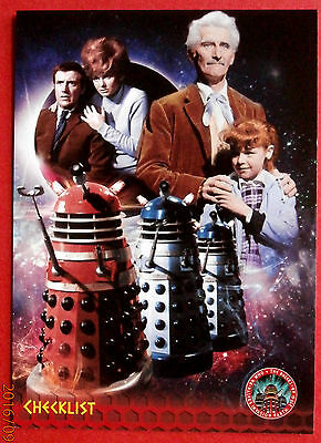 DR WHO AND THE DALEKS - Card #53 - CHECKLIST - Unstoppable Cards 2014