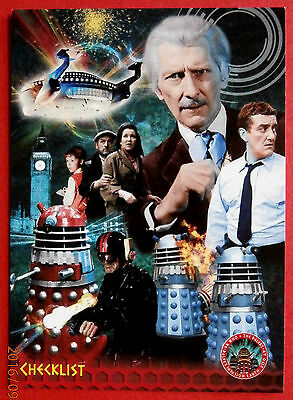 DR WHO AND THE DALEKS - Card #54 - CHECKLIST - Unstoppable Cards 2014