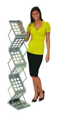 Portable Trade Show Literature Rack - Zed-up