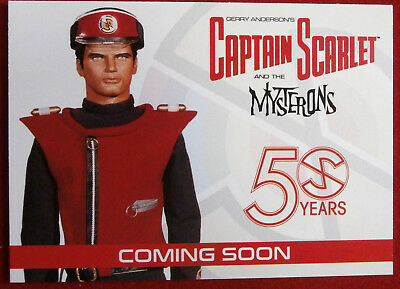 CAPTAIN SCARLET - 50 Years - Promo Card - Unstoppable Cards - PR1 - 2017