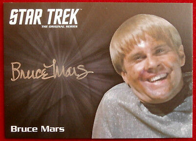 STAR TREK TOS 50th - BRUCE MARS, as Finnegan - LIMITED EDITION Autograph Card