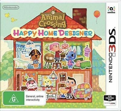 Animal Crossing Happy Home Designer (NINTENDO 3DS) *NEW* IMPORT *FREE P&P*