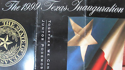 1999 TEXAS Governor Inauguration, Parade, Barbecue, Ball~George W. Bush