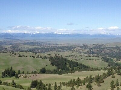 12.57 Acre Ranch Upper Saw Mill Creek Craig Montana View Mountain Property
