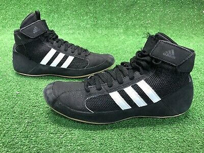 purchase cheap 353ac aa2df Adidas Wrestling Boxing Black Shoes HVC Men Art AQ3325 Size 7
