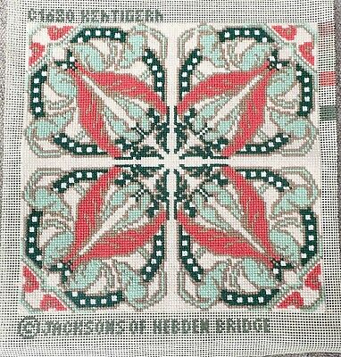 Jacksons of Hebden Bridge   wool tapestry cross stitch completed kit