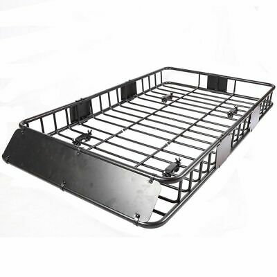 64'' Universal Roof Rack Extension Cargo Car Top Luggage Carrier Basket Rack