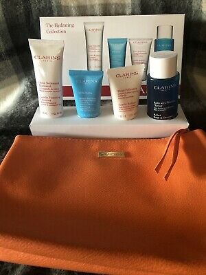 Clarins The Hydrating Collection Beauty Skin Gift Set With Beauty Bag - SOS Mask