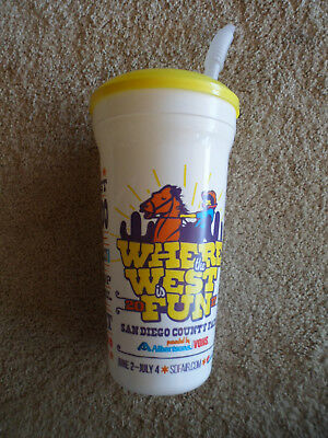 San Diego County Fair 2017 Souvenirs Cup White Used Where The West In Fun